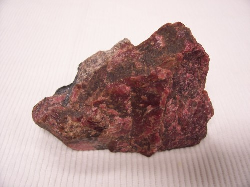 Rhodonite with Galena. Broken Hill Mine, New South Wales, Australia.
